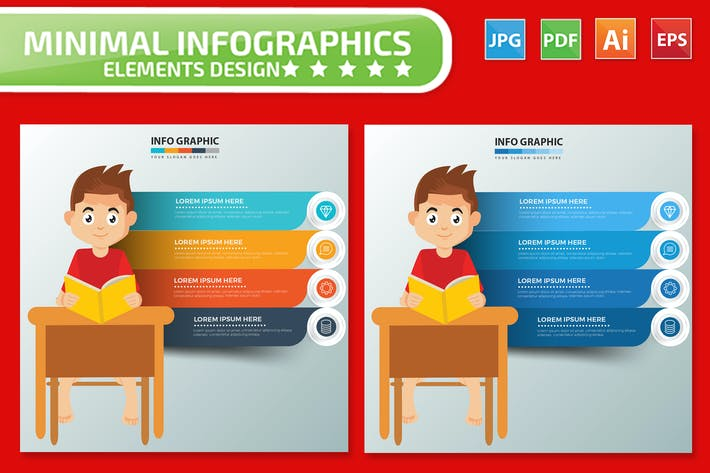 Thumbnail for Student Infografiken Design