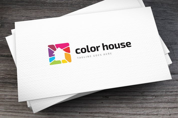 Thumbnail for Color House Logo Template