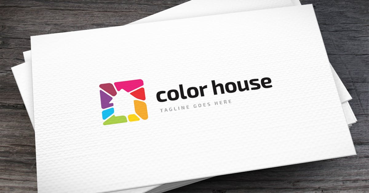 Download Color House Logo Template by empativo