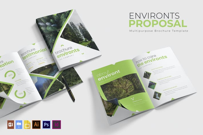 Thumbnail for Environts | Brochure Template