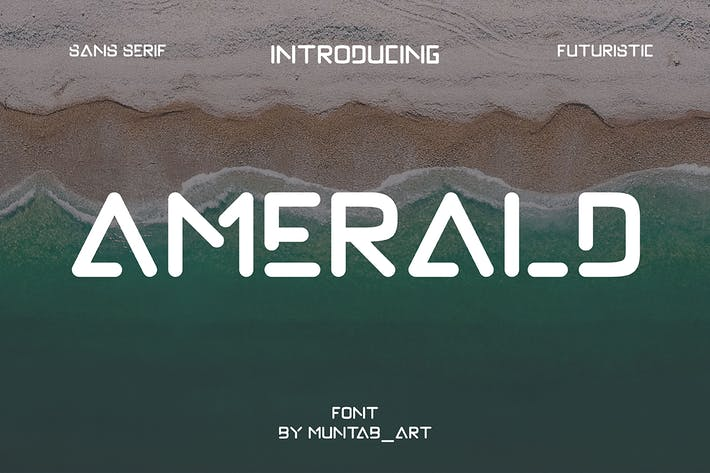 Thumbnail for Amerald | Modern Sans