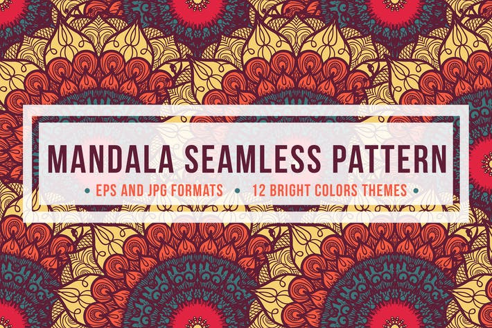 Thumbnail for Mandala Seamless Pattern