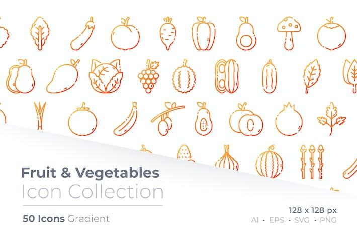 Thumbnail for Obst & Gemüse Gradient-Symbol