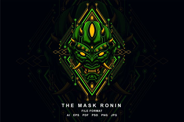Cover Image For The Mask Ronin