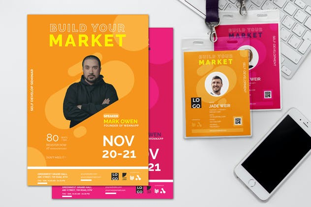 Build Your Market - Seminar Invitation