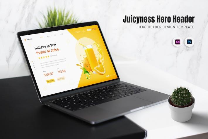 Juicyness Hero Header