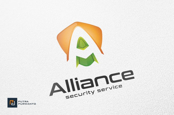 Thumbnail for Alliance / Shield - Logo Template