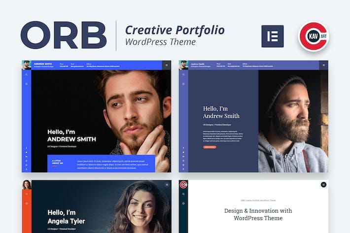 Thumbnail for ORB - Creative Portfolio WordPress Theme