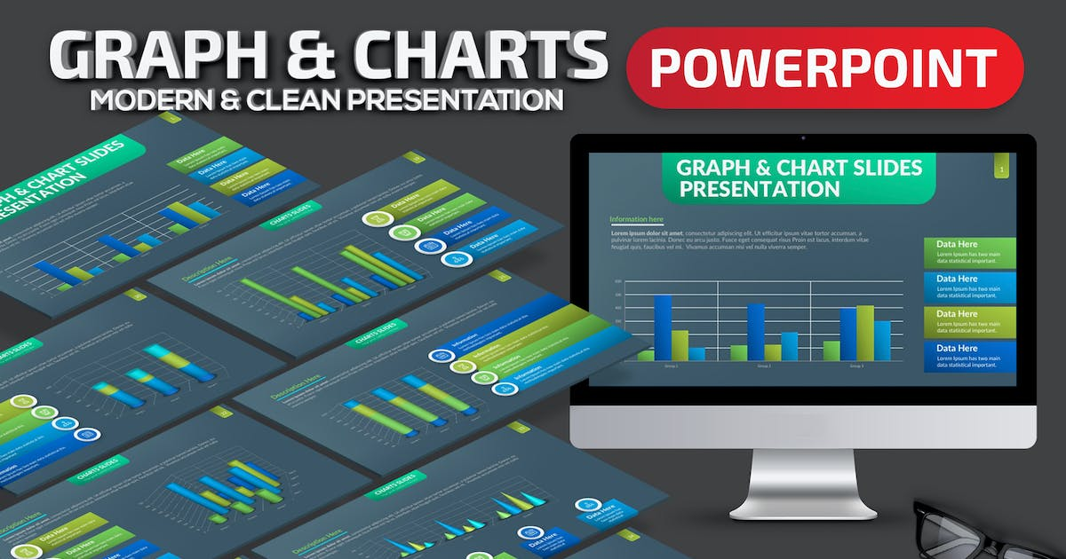 Download Graph & Charts Powerpoint Template by mamanamsai