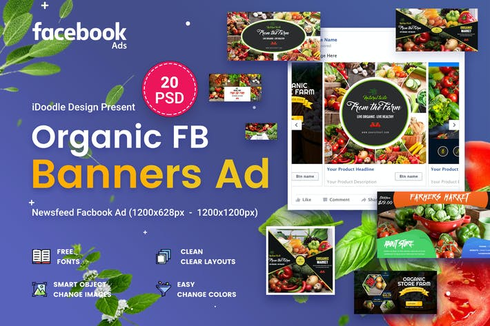 Cover Image For Organic Facebook Ads