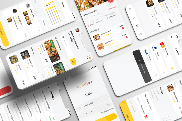 Thumbnail for Foodish UI Kit - Food Delivery Apps