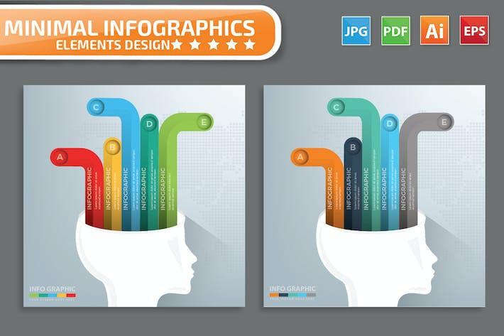 Thumbnail for Brainstorm infographic Design