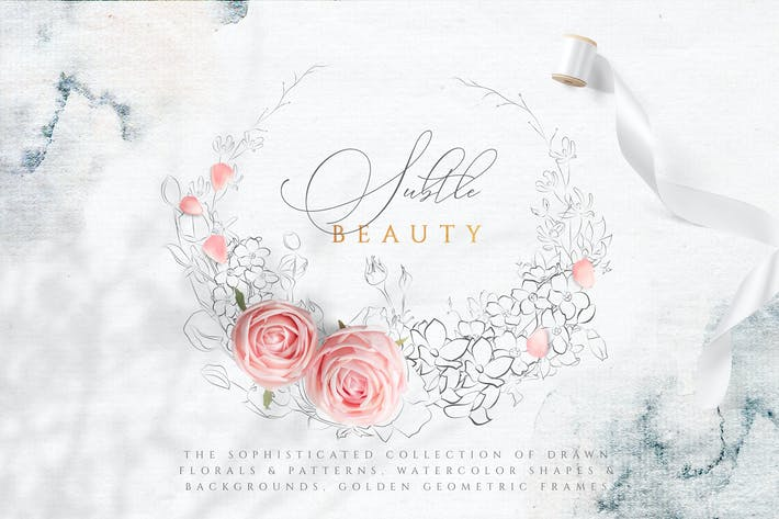 Subtile Beauty Graphic Sammlung