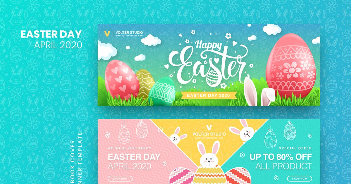 Download Easter Day Facebook Cover & Banner Template by youwes