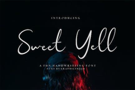 Sweet Gell - Un divertido escritura a mano