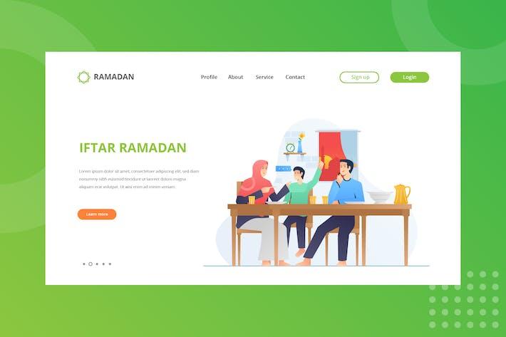 Thumbnail for Iftar Ramadan Landing Page