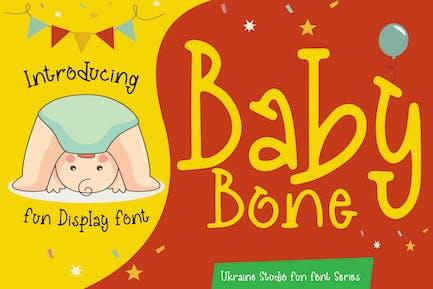 Baby Bone - Creative Fun Display Police pour enfants