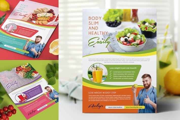 Thumbnail for Flyer für gesunde Ernährung