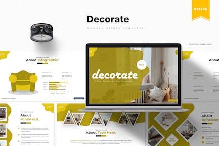 Decorate | Google Slides Template