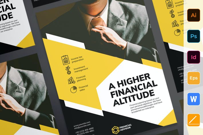 Thumbnail for Financial Advisor Poster