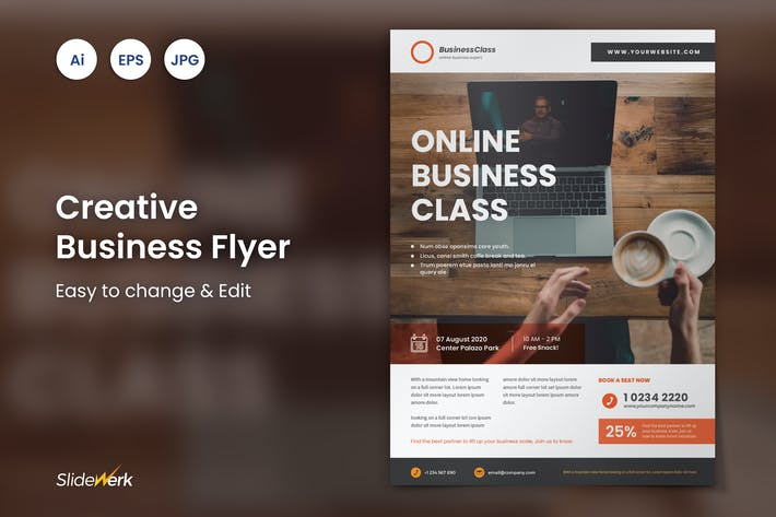Thumbnail for Creative Business Flyer 21 - Slidewerk