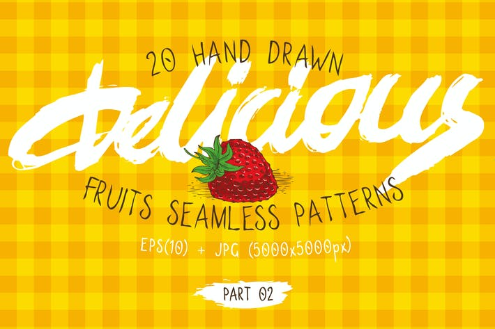 Thumbnail for Fruits Seamless Patterns Set