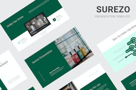 Surezo - Recycle Products Google Slides