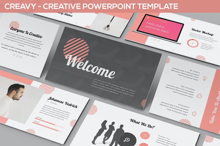 Thumbnail for Creavy - Creative Powerpoint Template