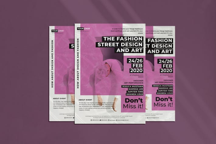 Cover Image For The Fashion Flyer