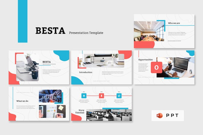 Thumbnail for BESTA - Business Powerpoint Template
