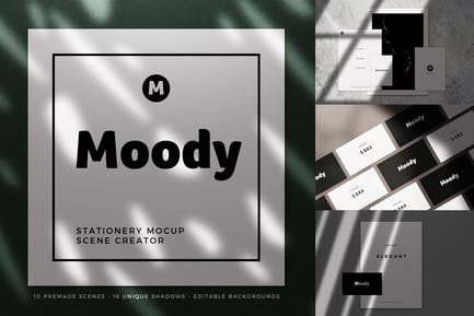 Moody Stationery Mockup Collection