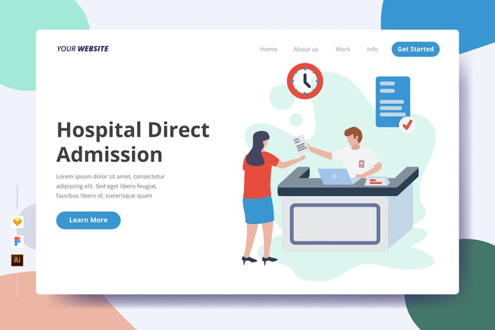 Thumbnail for Hospital Direct Admission - Landing Page