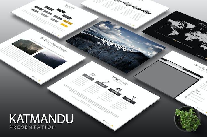 Thumbnail for Katmandu - Keynote Template