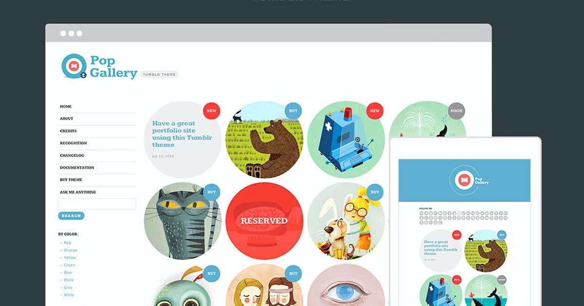Download Pop Gallery Tumblr Theme by themelantic
