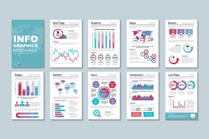 Thumbnail for Infographic Brochure Template