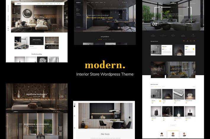 Thumbnail for Modern - PSD Ecommerce Template