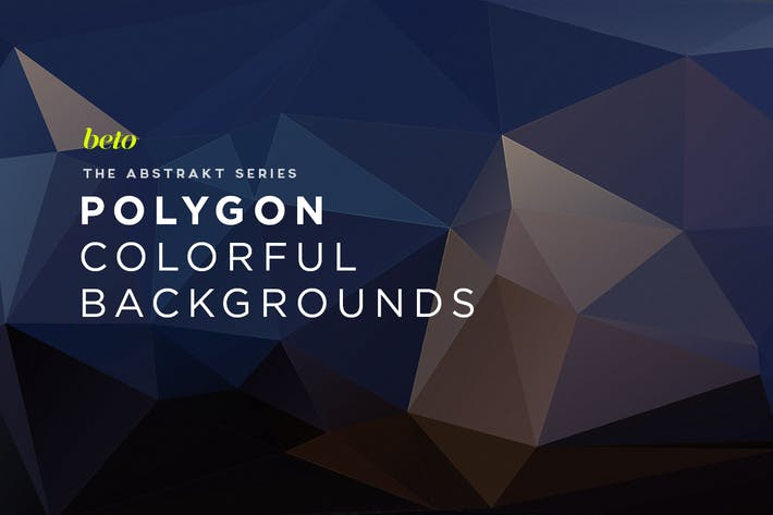 Thumbnail for Polygon Abstract Backgrounds V6