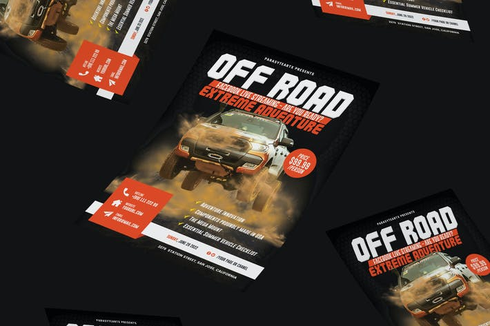 Thumbnail for Off-Road Adventure Flyer