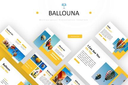 Ballouna - Keynote Template