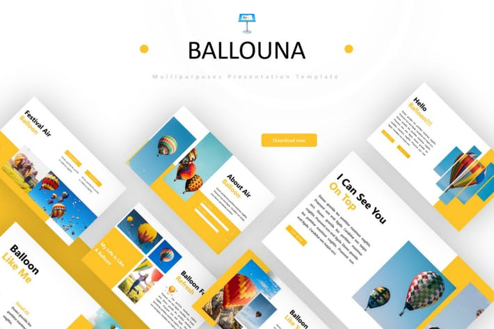 Thumbnail for Ballouna - Keynote Template