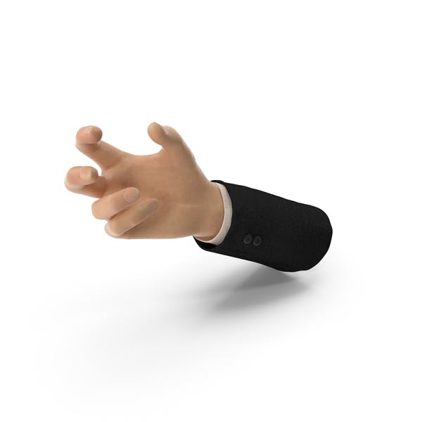 Suit Hand Small Sphere Object Hold Pose
