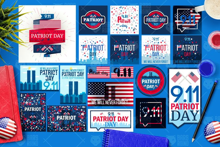 Thumbnail for Patriot Day Banners