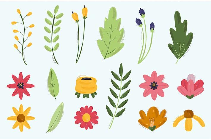 Frühling Blumen-Illustration