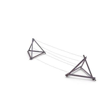 Razor Wire Entanglement Barrier