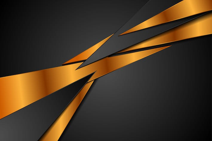 Thumbnail for Black bronze abstract corporate background