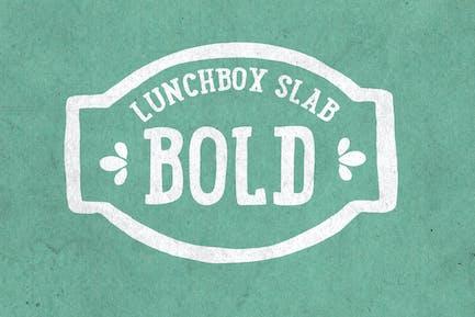 Lunchbox Slab Bold