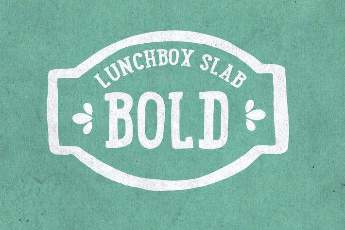 Thumbnail for Lunchbox Slab Bold