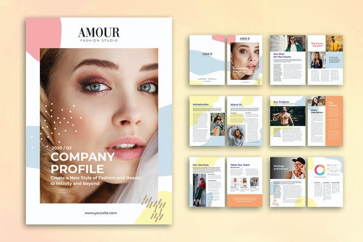 Thumbnail for Fashion Company Profile