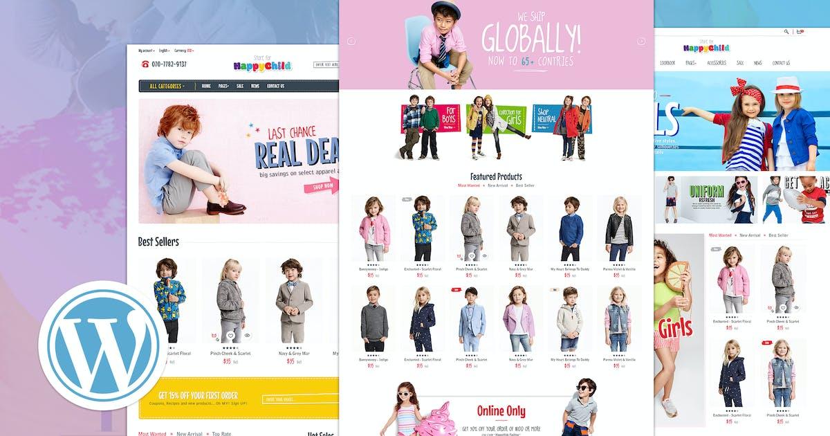 Download HappyChild | Multi Store Responsive WordPress Them by EngoTheme