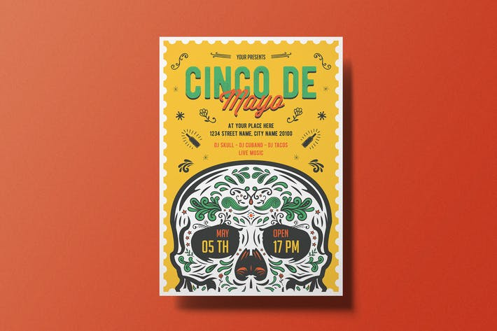 Thumbnail for Cinco De Mayo Flyer
